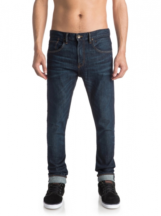 Jeansy Quiksilver Low Bridge 257 btnw icy blue 2016/17 vell.32/34