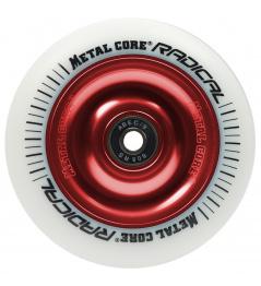 Metal Core Radical 110 mm kolečko bílo červené
