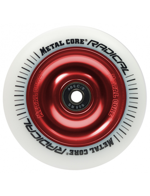 Metal Core Radical 110 mm castor white white