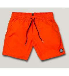 Shorts de baño Volcom Tronco sólido pimienta rojo 2020 vell.XL