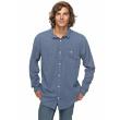 Košile Quiksilver New Time Box 633 byl0 vintage indigo 2018 vell.L