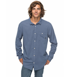 Quiksilver Shirt New Time Box 633 was0 vintage indigo 2018 vell.L
