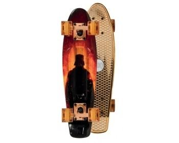 Star Wars Skateboard Bling Bling Vader Red