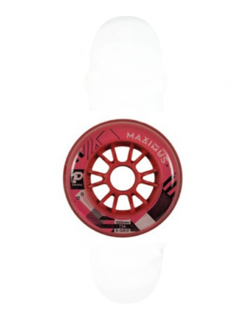 Kolečka Prime Maximus Red (4ks), 76mm,73A