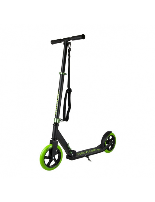 Funscoo 200 mm folding scooter green