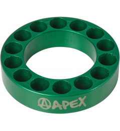 Headset spacer Apex 10mm zelený