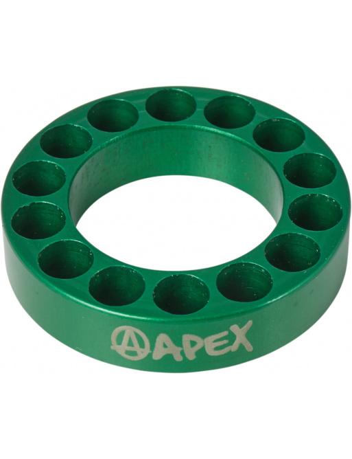 Headset spacer Apex 10mm zelený