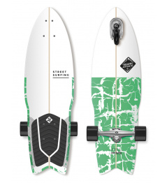 "Longboard Street Surfing SHARK ATTACK 30 ""Zielony"
