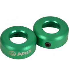 Koncovky Apex zelené
