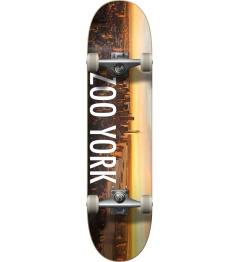 Zoo York Logo Block Complete Skateboard (8.25"