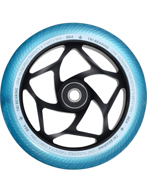 Kolečko Blunt Tri bearing 120x30mm teal