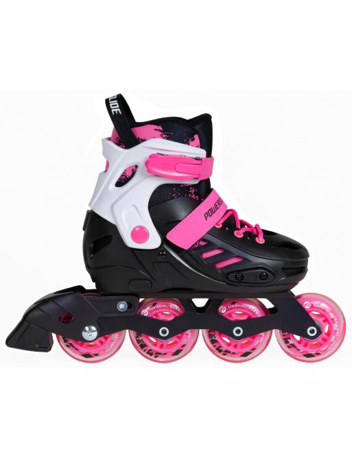 Dětské kolečkové brusle Powerslide Khaan Junior SQD Pink
