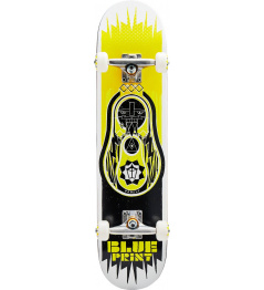 "Skateboard Blueprint Babushka V2 7.5"" Yellow"