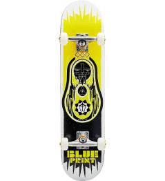 "Skateboard Blueprint Babushka V2 7.5"" Yellow"