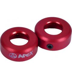 Koncovky Apex červené