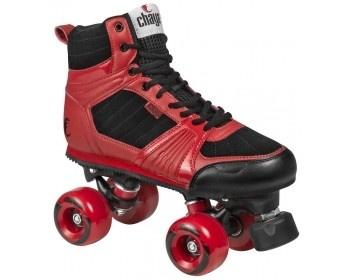Chaya Quad Jump Red Skates
