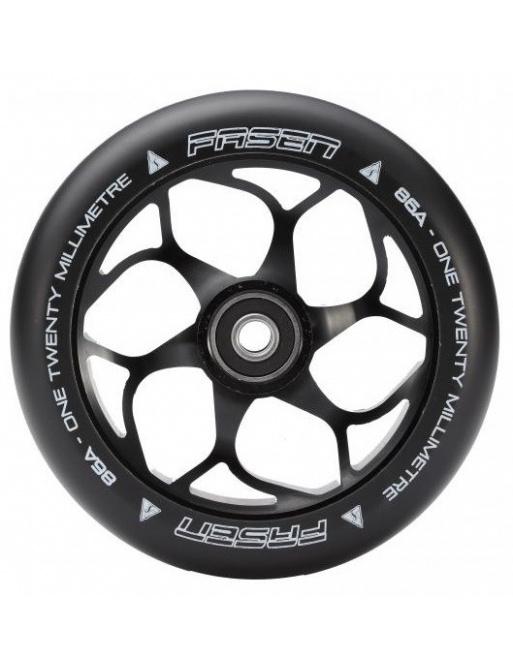 Fasen 120 mm kolečko černo černé