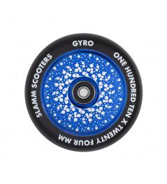 Kolečko Slamm 110mm Gyro Hollow Core modré