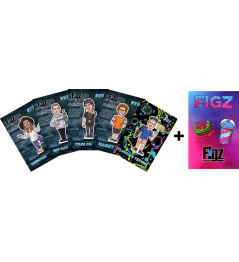 Samolepky Figz Collectors Scooter Sticker 6-Pack Pack 2