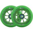 River Glide Emerald Wheels verde 2 piezas