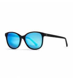 Brýle Horsefeathers Chloe - matt black/mirror blue 2021
