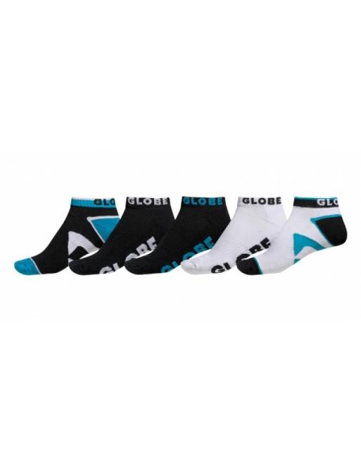 Ponožky Globe Destroyer 5pack black 2014/15 vell.7-11