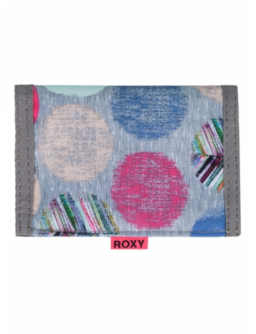 Peněženka Roxy Small Beach 064 sgrh ax leaf dots combo heritage heather 2016 dámská