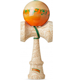 Kendama KROM Unity Equilibrium Oranžová