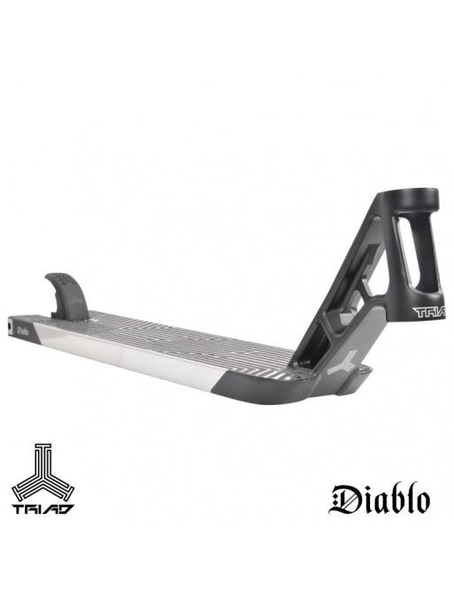 Deska Triad Diablo 560mm stříbrná