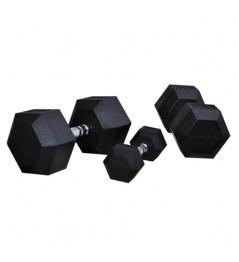 Hexagoniální jednoručka BAUER FITNESS AC-1707 17,5 kg