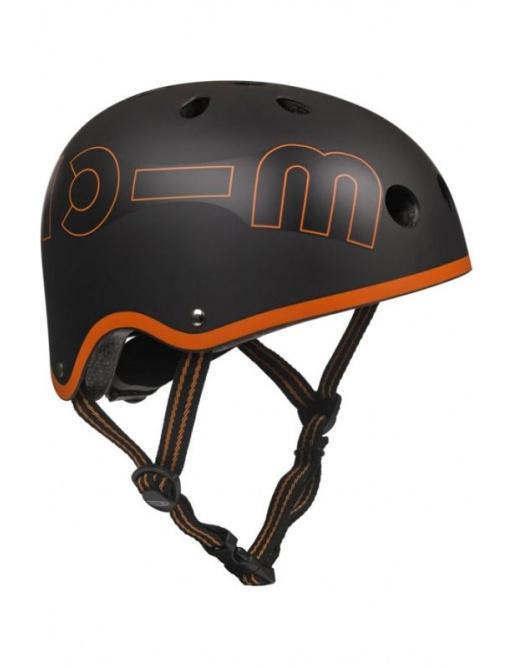 Přilba Micro Black & Orange