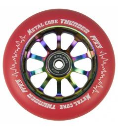 Metal Core Thunder Rainbow 110 mm kolečko červené