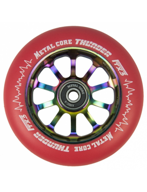 Metal Core Thunder Rainbow 110 mm kolečko červené