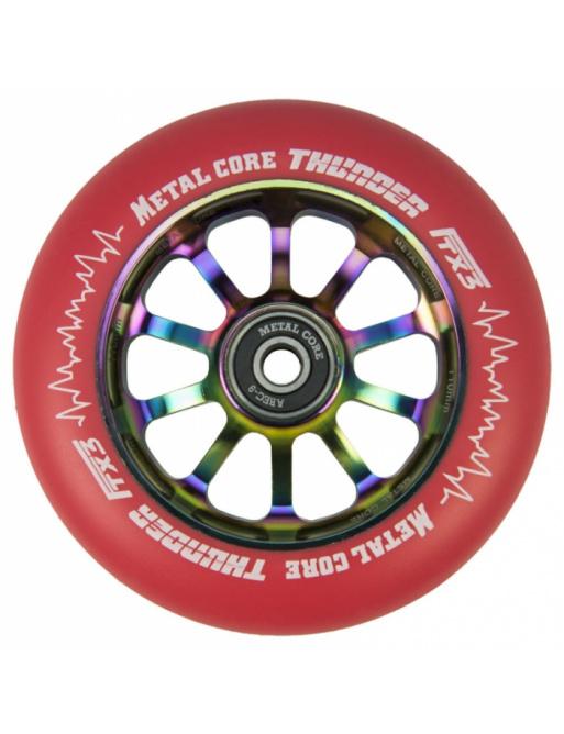 Metal Core Thunder Rainbow 110 mm rojo echador