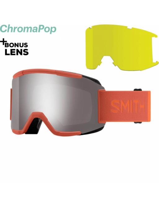 Brýle SMITH Squad burnt orange/chromaPop sun platin 2020/21