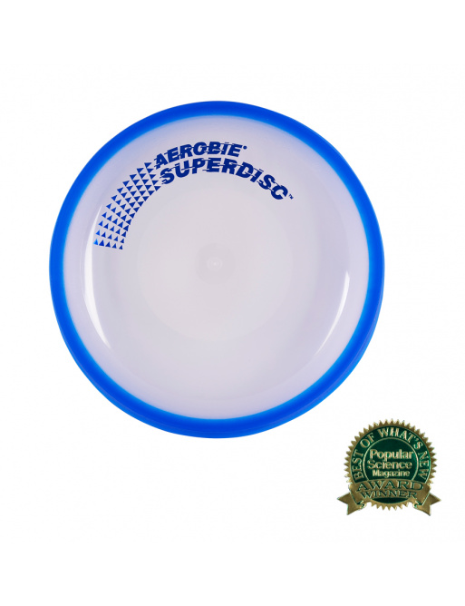 Aerobie SUPERDISC Blue Flying Plate