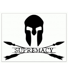 Supremacy Logo Sticker