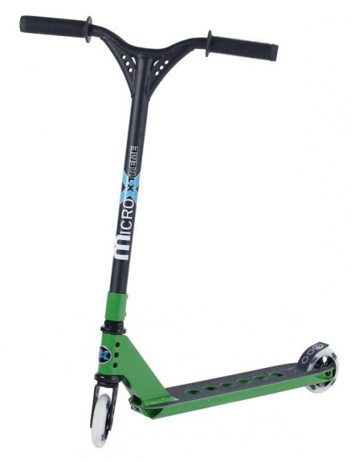 Micro MX Trixx freestyle koloběžka zelená