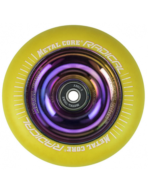 Metal Core Radical Rainbow 110 mm kolečko žluté