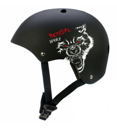Bestial Wolf Blackskull Children's Helmet (XXS-S)
