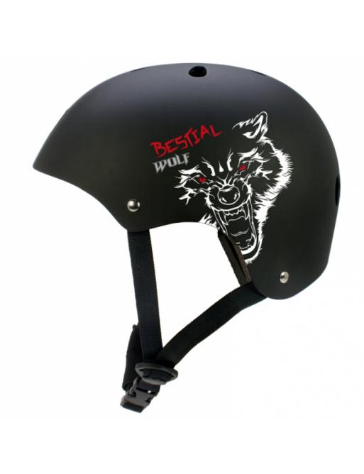 Bestial Wolf Blackskull dětská helma (XXS-S)