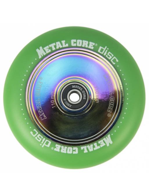 Metal Core Disc 110 mm kolečko zelené