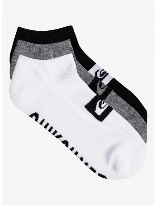 Ponožky Quiksilver Ankle Pack ast 2018/19 vell.6-11