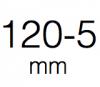 120-5 mm kolečka