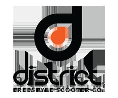 Řídítka District pro freestyle koloběžky