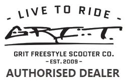 Řídítka Grit pro freestyle koloběžky